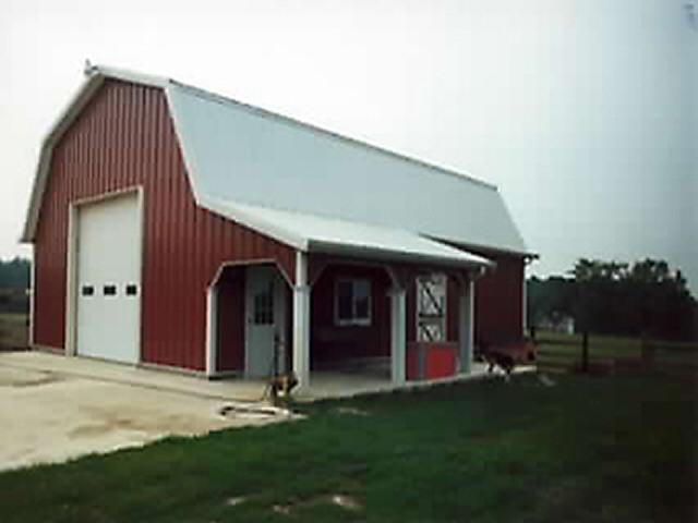 Pole barn builders in michigan michigan pole barn builders for Building a home in michigan